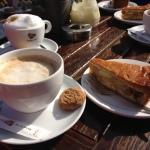 westernspelen - koffie met gebak
