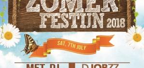 Zomerfestijn 2018: SAT. 7TH JULY met DJ DJOBZZ
